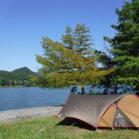 千丈寺湖青野ダムソロキャンプ