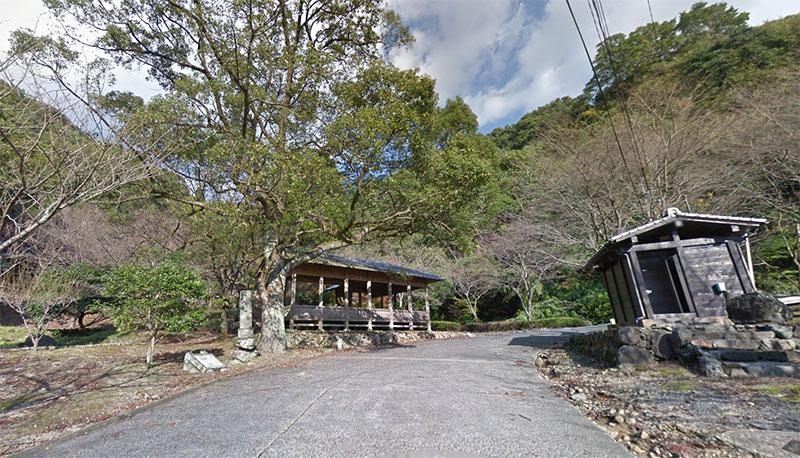 岩屋山渓桜公園